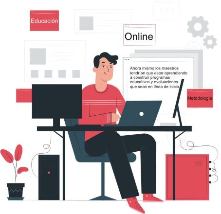 Repensar la educación a 100% en línea