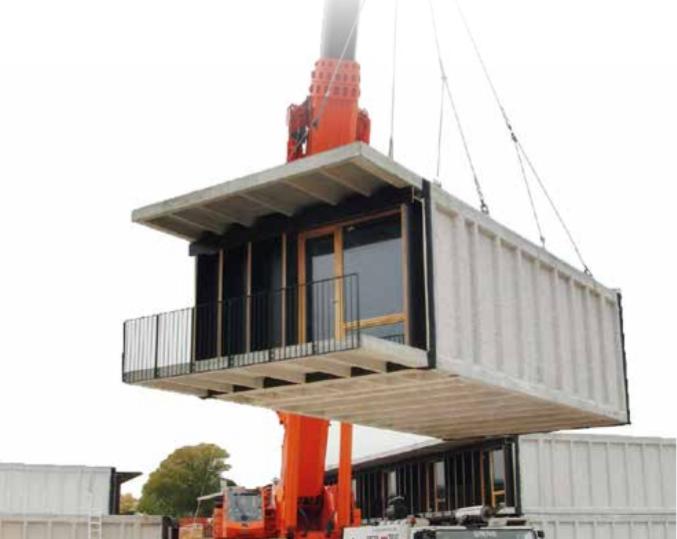 Métodos modernos de construcción (MMC): fabricación modular