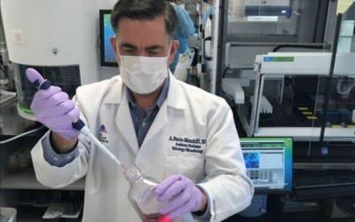 Prueba PCR en saliva