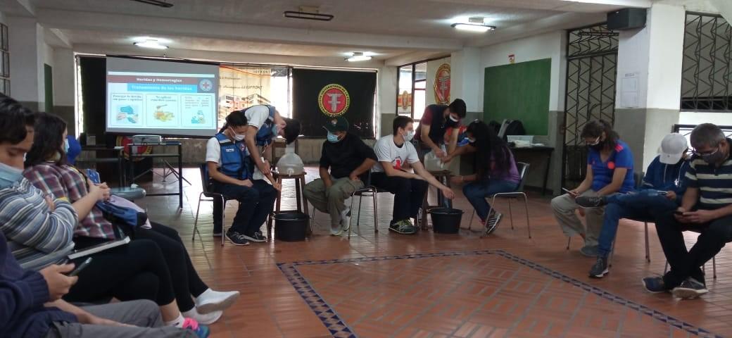 Curso Primeros Auxilios. Avalado por Cruz Roja Venezolana